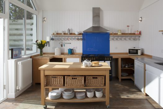 Kitchen at Fairfax, a self-catering holiday home in Rock, North Cornwall