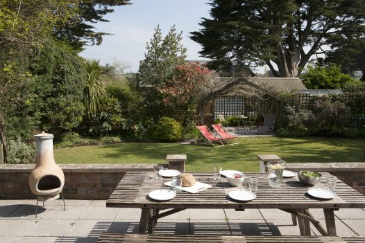 Outdoor space at Fairfax, a self-catering holiday home in Rock, North Cornwall
