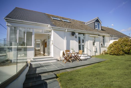 Hillcote, a self-catering holiday home in New Polzeath, North Cornwall