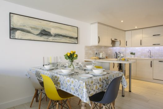 No 6 Tregales, a self-catering holiday home in New Polzeath, North Cornwall