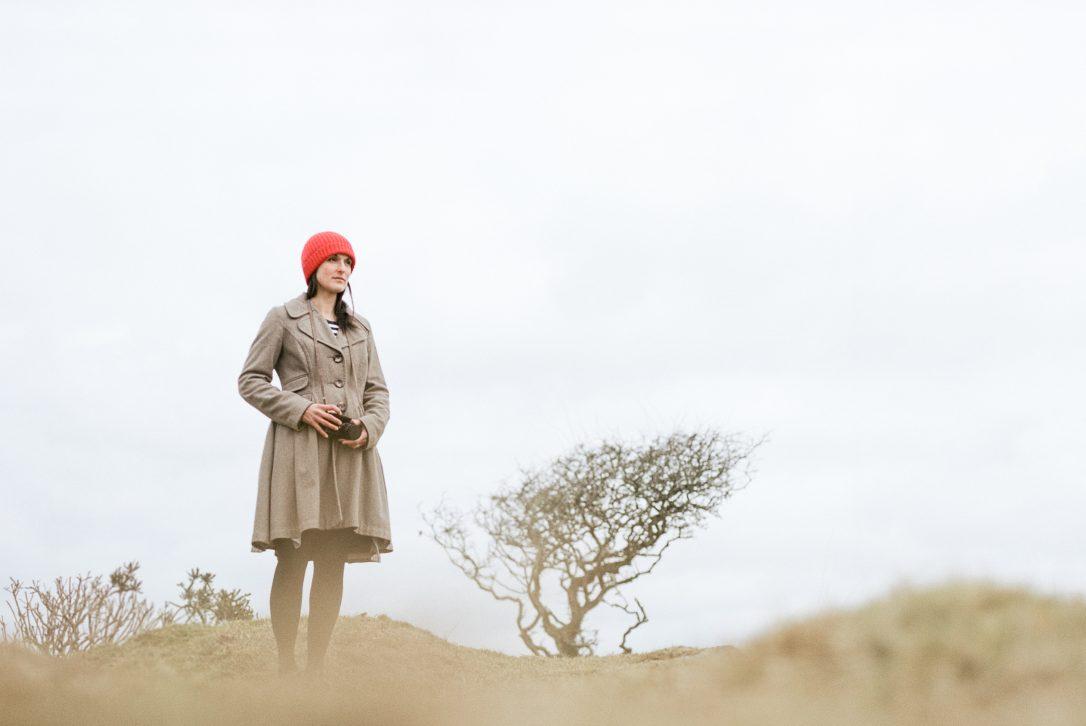 Nicole Heidaripour, North Cornwall based illustrator on Bodmin Moor