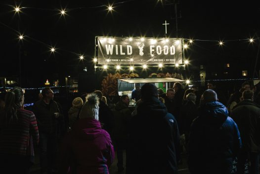Food at Padstow Christmas Festival