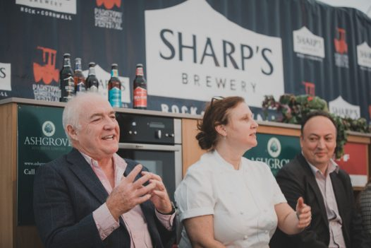 Rick Stein at Padstow Christmas Festival