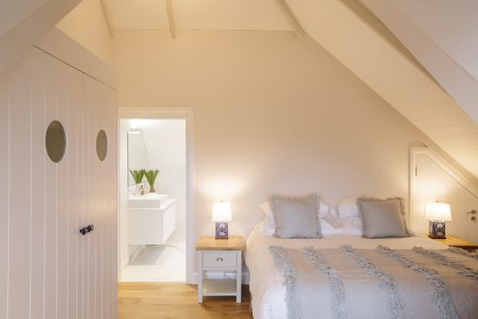 Bedroom at Parker's Place, a self-catering property in Polzeath, North Cornwall