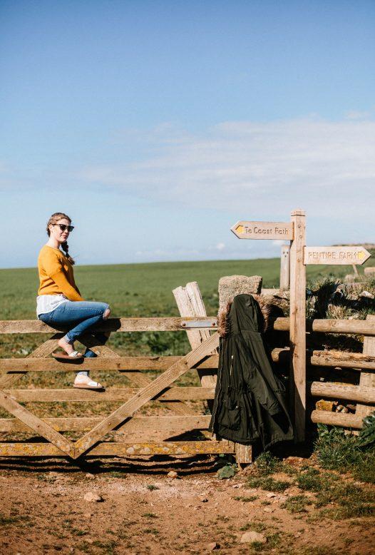 Walking around Polzeath, North Cornwall