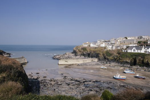 Explore the harbour of Port Isaac from your base at Penquite House, a self-catering holiday property
