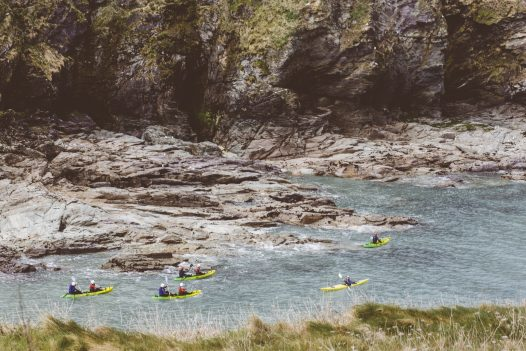 There are plenty of watersports to try nearby to Penquite House, a self-catering holiday home near Port Isaac