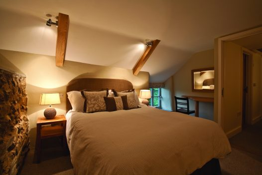 Beautiful bedroom at Penquite Cottage, a self-catering holiday cottage near Port Isaac, North Cornwall