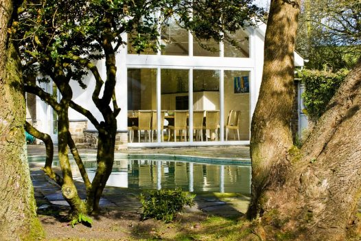 Holiday cottage with outdoor heated swimming pool near Port Isaac
