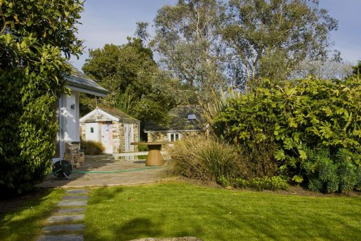 Gardens at Penquite, a self-catering holiday cottage near Port Isaac, North Cornwall