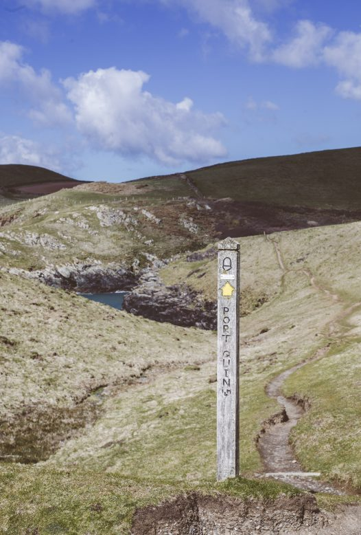 From Penquite you can join the coastal path at Port Isaac and walk to the picturesque Port Quin