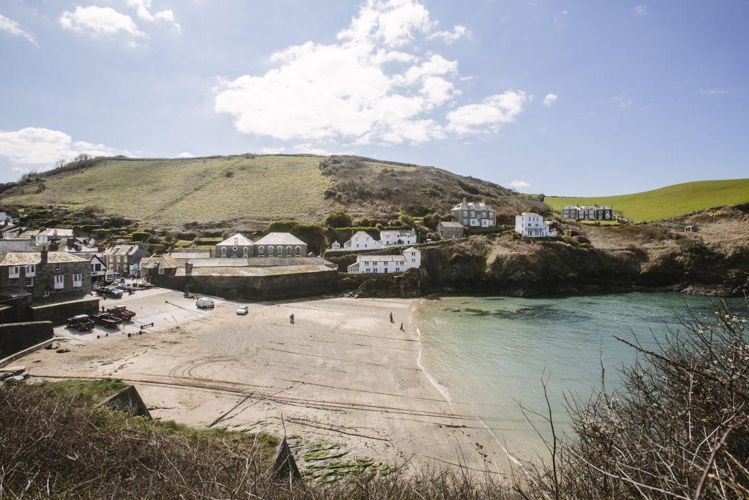 Port Isaac, fishing village in North Cornwall
