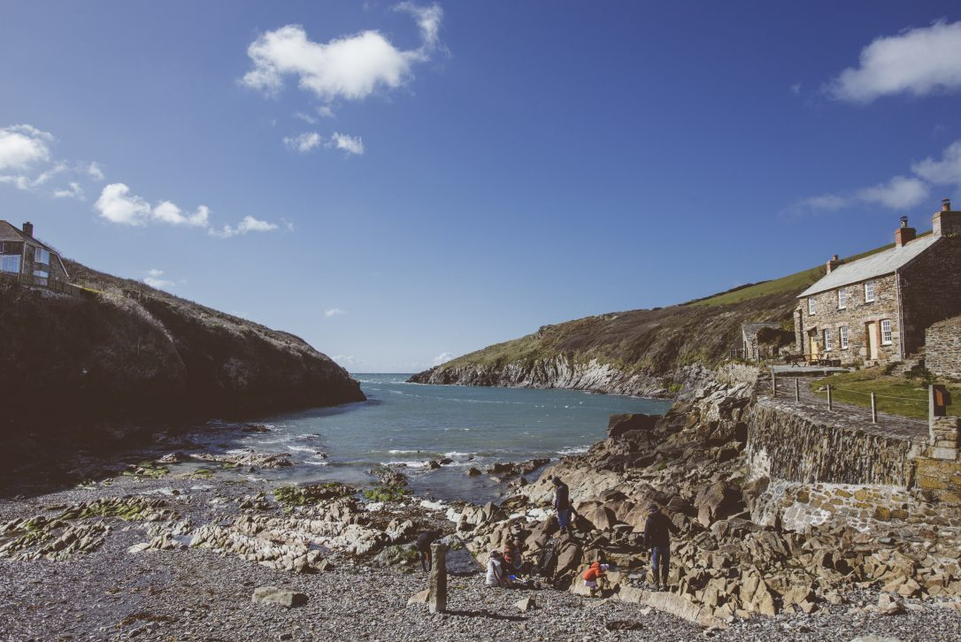 View across Port Quin, North Cornwall