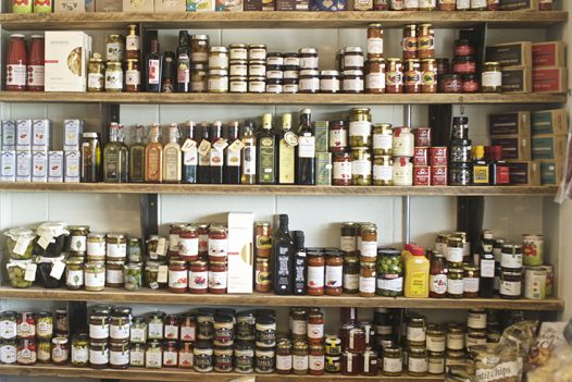 Mooch around the shops at Hawksfield outside Wadebridge, the perfect rainy day activity in North Cornwall