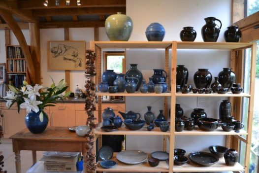 Take a look around St Kew pottery, the perfect rainy day activity in North Cornwall