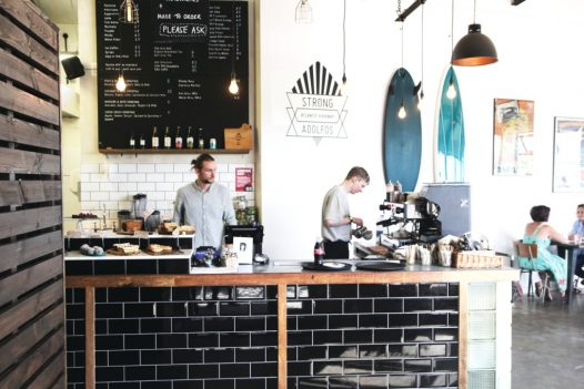 Brunch at Strong Adolfos, the perfect rainy day activity in North Cornwall