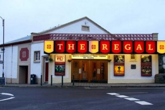 Catch a film at The Regal in Wadebridge, the perfect rainy day activity in North Cornwall