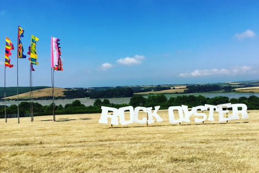 The Rock Oyster Festival 2020 at the Dinham Estate near Rock