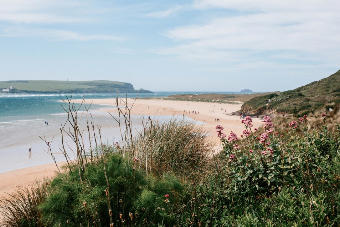 Rock beach, Rock, North Cornwall