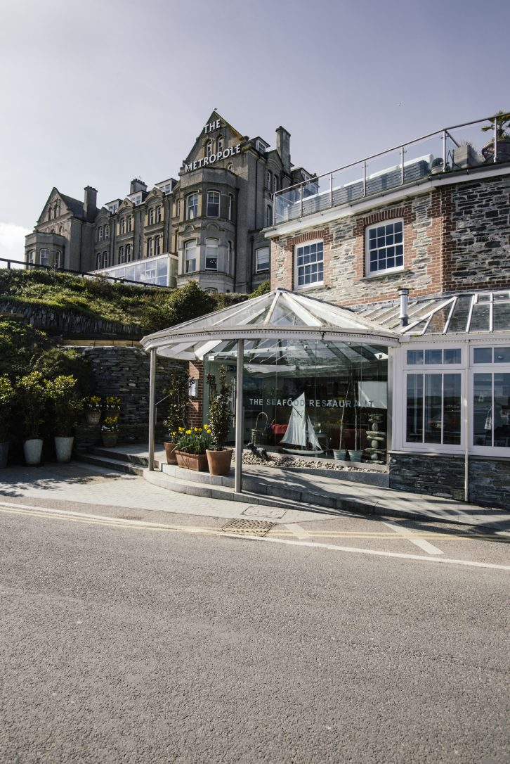 Rick Stein's Seafood Restaurant, Padstow, North Cornwall