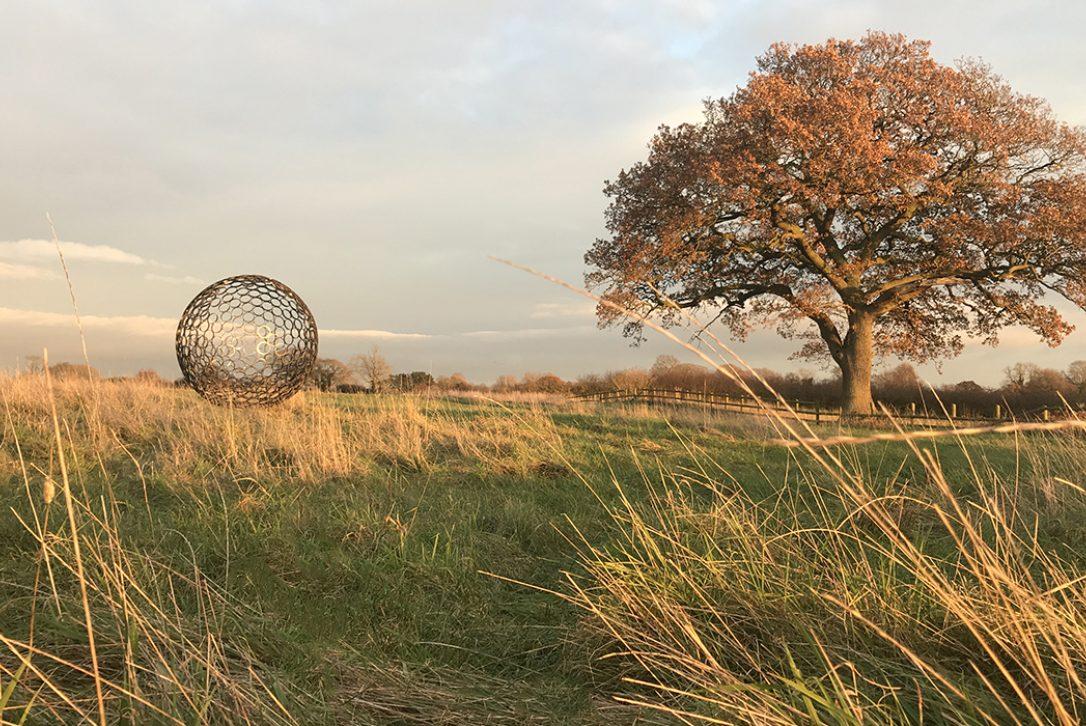 Porthilly Sculpture Garden by Jill Clarke