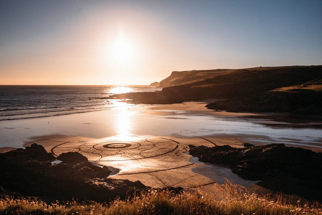 New Polzeath is a beautiful place to watch the sunset