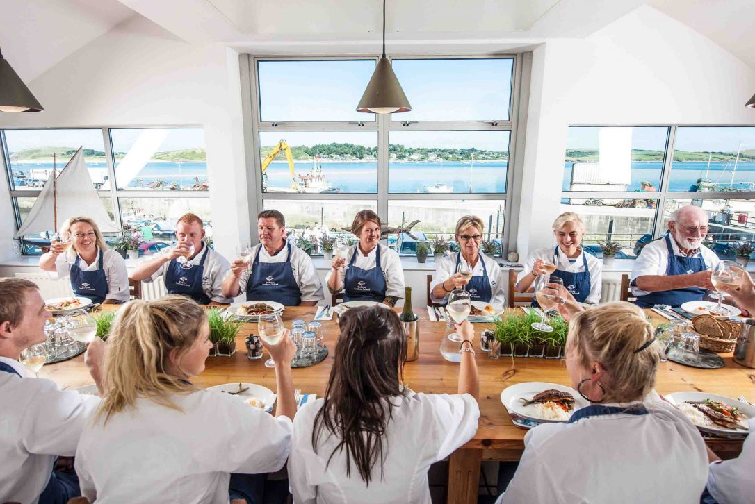 From our self-catering properties in Rock you can easily jump on the ferry to Padstow and try a cookery class with Rock Stein