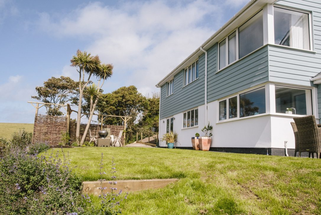 Seahouse, a self-catering holiday home in Polzeath, North Cornwall.