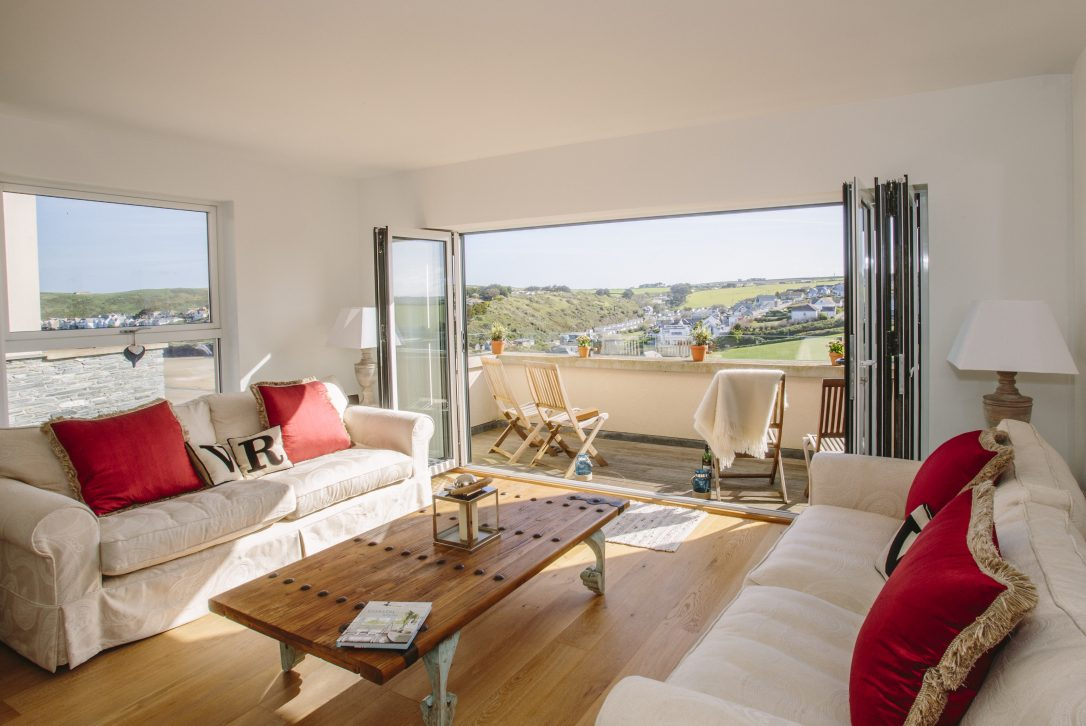 Vinnick Rock, a self-catering holiday property in Polzeath, North Cornwall