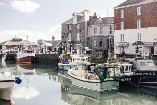 Padstow is a picturesque harbour town with plenty of chops to browse