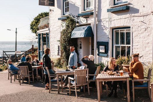 The Port Gaverne Hotel and Restaurant, Port Gaverne, North Cornwall