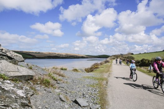The Camel Trail is within easy reach of Latitude50's range of self-catering properties