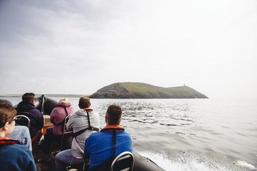 See the Cornish coastline with a Wavehunters Sea Safari.