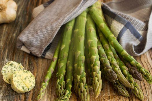 St Enodoc asparagus, Daymer Bay, North Cornwall