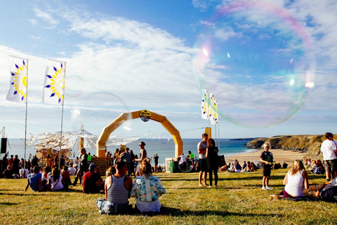 Boardmasters Surf and Music Festival, Watergate Bay, North Cornwall