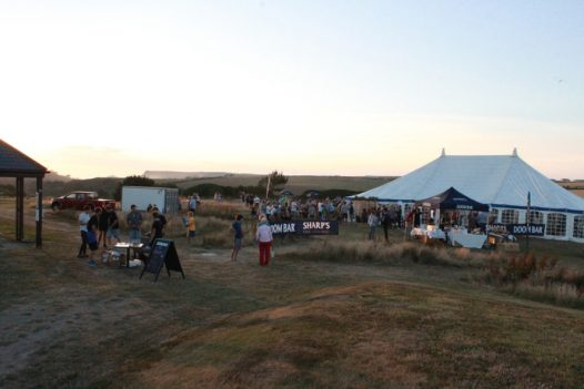 The Point at Polzeath Beer and Music Festival, Polzeath, North Cornwall