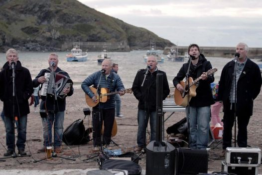 Fisherman's Friends in Port Isaac, North Cornwall