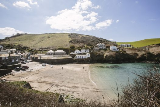 Penquite Cottage is just a short drive away from the fishing village of Port Isaac