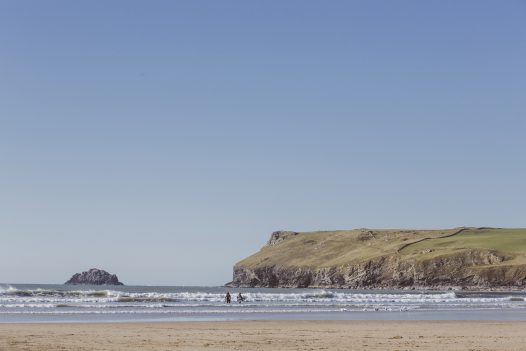 Polzeath is now dog friendly all year round (with just a time restriction during the summer holidays)