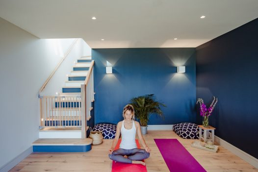 Latitude50 have a range of self-catering properties perfect for yoga