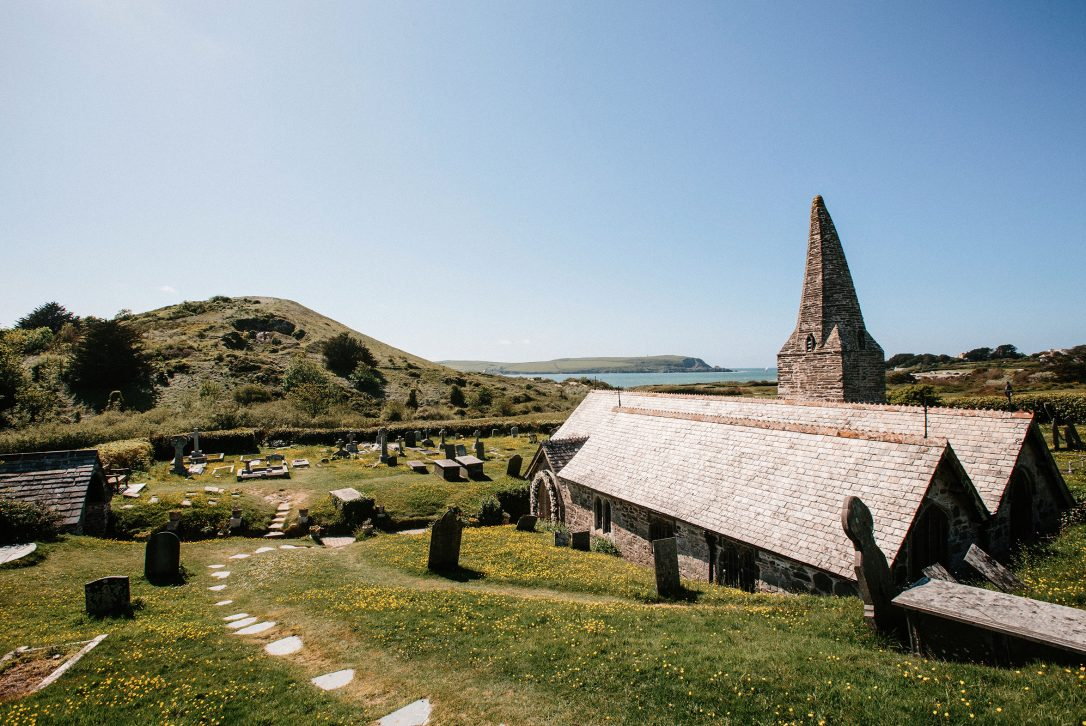 The picture perfect St Enodoc Church