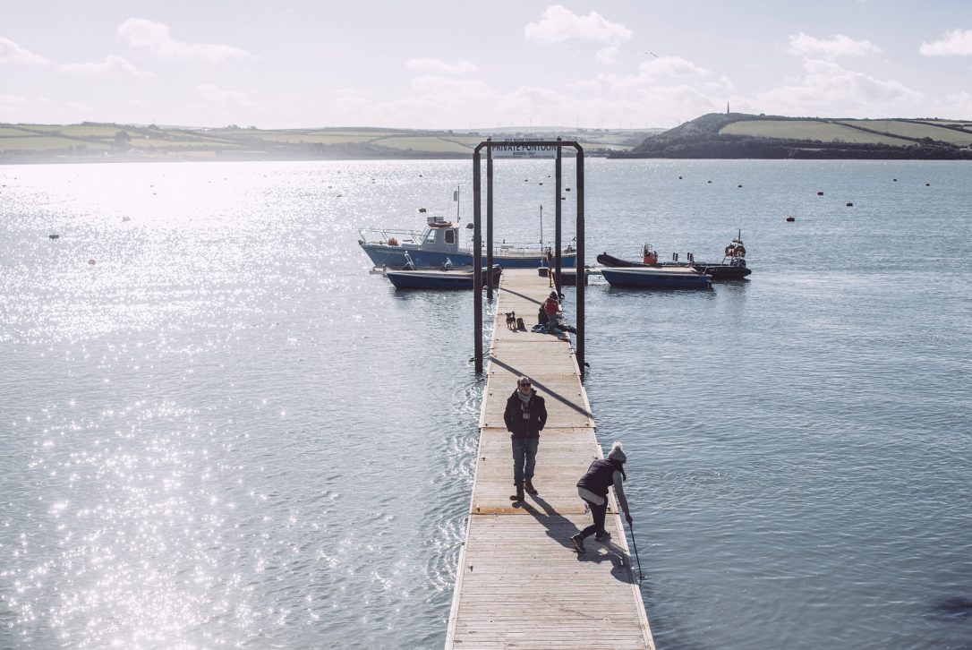 Pontoon for watersports in Rock, North Cornwall