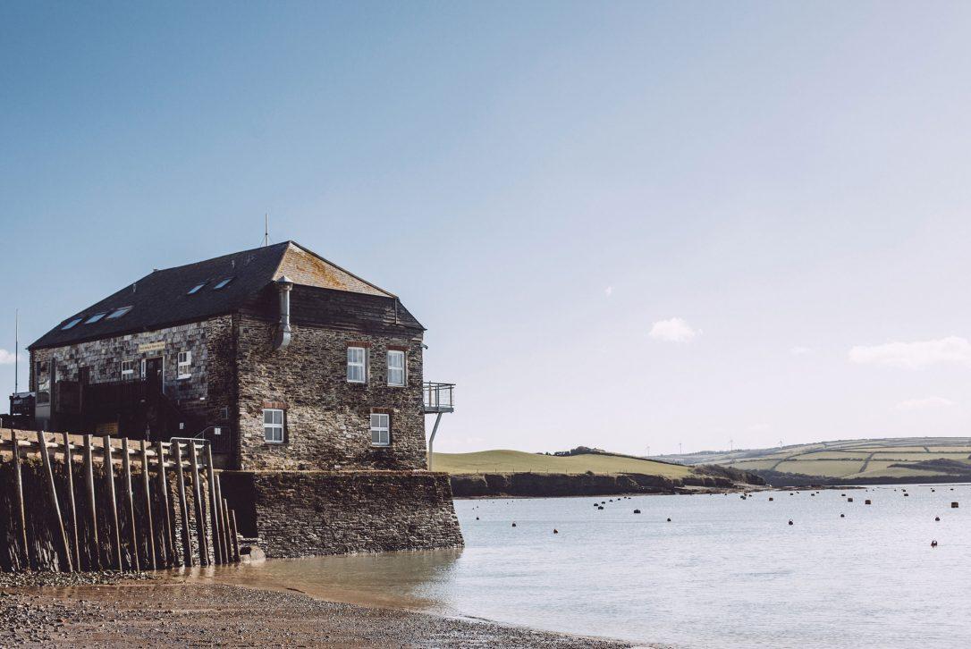 Rock Sailing and Water Ski Club, North Cornwall