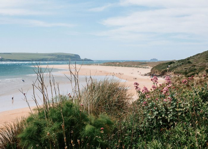 Rock Beach near The Crispin, a self-catering holiday home in Rock, North Cornwall