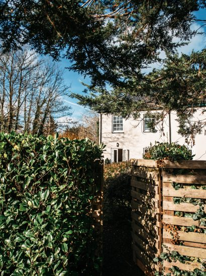 Back view of 1 Lowenna Manor, a self-catering holiday home in Rock, North Cornwall