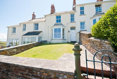 Front of 2 Pentire View, a self-catering holiday home in Polzeath, North Cornwall