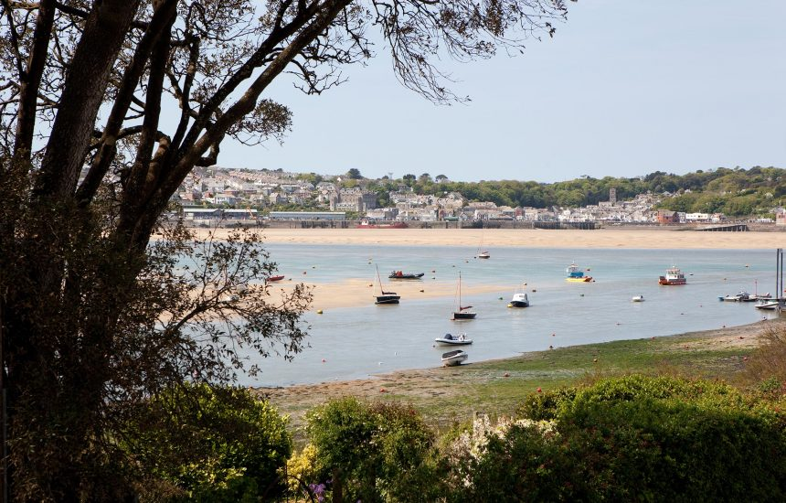 View from 2 Slipway, a self-catering holiday cottage in Rock, North Cornwall