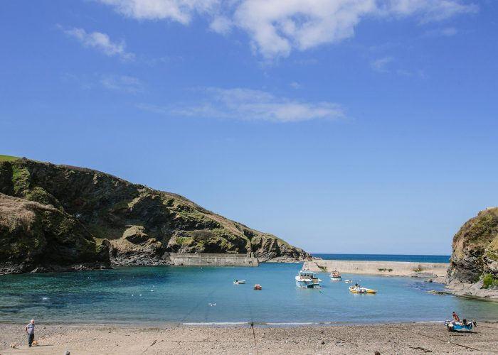 The picture perfect harbour in Port Isaac