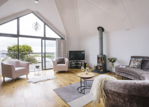 Lounge at Appleby, a self-catering holiday home near Daymer Bay, North Cornwall