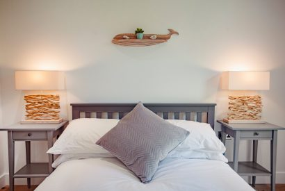 Bedroom three at Cowrie, a self-catering holiday home in Rock, North Cornwall